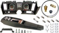 69 Camaro Tach & Console w/Gauges Conversion Kit w/4 Spd 120 MPH 6/7K Tach