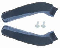 1969 1970 Camaro & Firebird Bucket Seat Hinge Covers OE Quality Dark Blue Pair