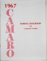 1967 Camaro Factory Wiring Diagram Manual OE Quality! USA!