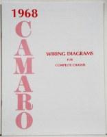 1968 Camaro Factory Wiring Diagram Manual OE Quality! USA!