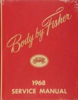 1968 Camaro Chevelle Corvette Nova  Fisher Body Service Manual USA!