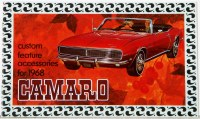 1968 Camaro Custom Feature Accessories Pamphlet