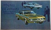 1969 Camaro Custom Feature Accessories Pamphlet