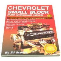 1964-74 Camaro Chevelle Corvette Nova  SB Chevy Parts Interchange Manual