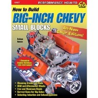 1964-74 Camaro Chevelle Corvette Nova  How to Build Big Inch Chevy Small Blocks
