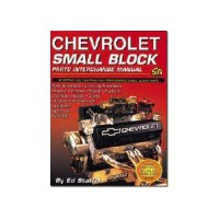 1964-74 Camaro Chevelle Corvette Nova  Chevrolet SB Parts Interchange Manual