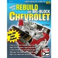 1964-74 Camaro Chevelle Corvette Nova  How To Rebuild The Big Block Chevrolet