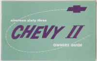 1963 Chevy II Nova Factory Owners Manual OE Quality! Printed In The USA!