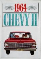 1964 Chevy II Nova Dealer Showroom Sales Brochure  OE Quality!