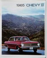 1965 Chevy II Nova Dealer Showroom Sales Brochure  OE Quality!