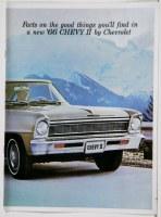 1966 Chevy II Nova Dealer Showroom Sales Brochure  OE Quality!