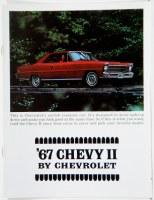 1967 Chevy II Nova Dealer Showroom Sales Brochure  OE Quality!