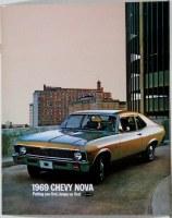 1969 Nova Dealer Showroom Sales Brochure  OE Quality!