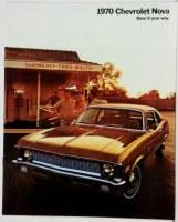 1970 Nova Dealer Showroom Sales Brochure  OE Quality!
