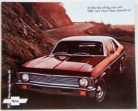1971 Nova Dealer Showroom Sales Brochure  OE Quality!