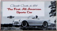 1954 Corvette Dealer Showroom Sales Brochure  OE Quality!
