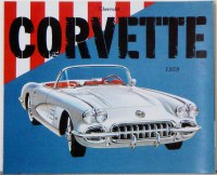 1958 Corvette Dealer Showroom Sales Brochure  OE Quality!