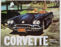 1959 Corvette Dealer Showroom Sales Brochure  OE Quality!