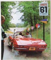 1961 Corvette Dealer Showroom Sales Brochure  OE Quality!
