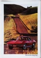 1964 Corvette Dealer Showroom Sales Brochure  OE Quality!