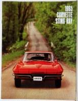 1965 Corvette Dealer Showroom Sales Brochure  OE Quality!