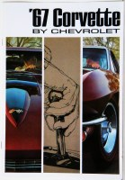 1967 Corvette Dealer Showroom Sales Brochure  OE Quality!