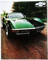 1971 Corvette Dealer Showroom Sales Brochure  OE Quality!