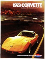 1973 Corvette Dealer Showroom Sales Brochure  OE Quality!