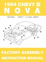 1964 Chevy II Nova Factory Assembly Manual OE Quality! Printed In The USA!