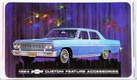 1964 Chevelle Custom Illustrated Accessories Pamphlet
