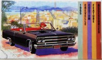 1965 Chevelle Custom Illustrated Accessories Pamphlet