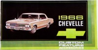 1966 Chevelle Custom Illustrated Accessories Pamphlet