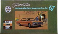 1967 Chevelle Custom Illustrated Accessories Pamphlet