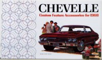 1968 Chevelle Custom Illustrated Accessories Pamphlet