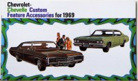 1969 Chevelle Custom Illustrated Accessories Pamphlet
