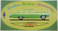 1964 Full Size Chevrolet Custom Illustrated Accessories Pamphlet