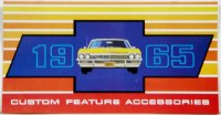 1965 Full Size Chevrolet Custom Illustrated Accessories Pamphlet