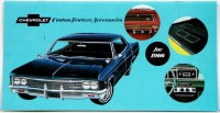 1966 Full Size Chevrolet Custom Illustrated Accessories Pamphlet