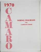 1970 Camaro Factory Wiring Diagram Manual