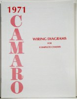 1971 Camaro Factory Wiring Diagram Manual