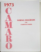 1973 Camaro Factory Wiring Diagram Manual