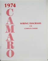1974 Camaro Factory Wiring Diagram Manual