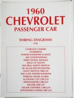 1960 Full Size Chevrolet Factory Wiring Diagram Manual