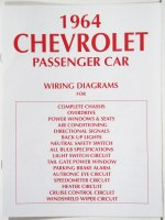 1964 Full Size Chevrolet Factory Wiring Diagram Manual