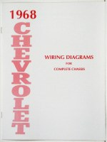 1968 Full Size Chevrolet Factory Wiring Diagram Manual