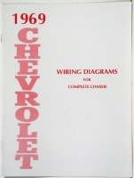 1969 Full Size Chevrolet Factory Wiring Diagram Manual