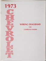 1973 Full Size Chevrolet Factory Wiring Diagram Manual