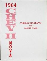 1964 Chevy II Nova Factory Wiring Diagram Manual