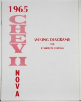 1965 Chevy II Nova Factory Wiring Diagram Manual