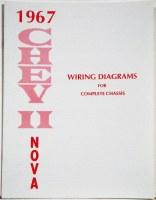 1967 Chevy II Nova Factory Wiring Diagram Manual